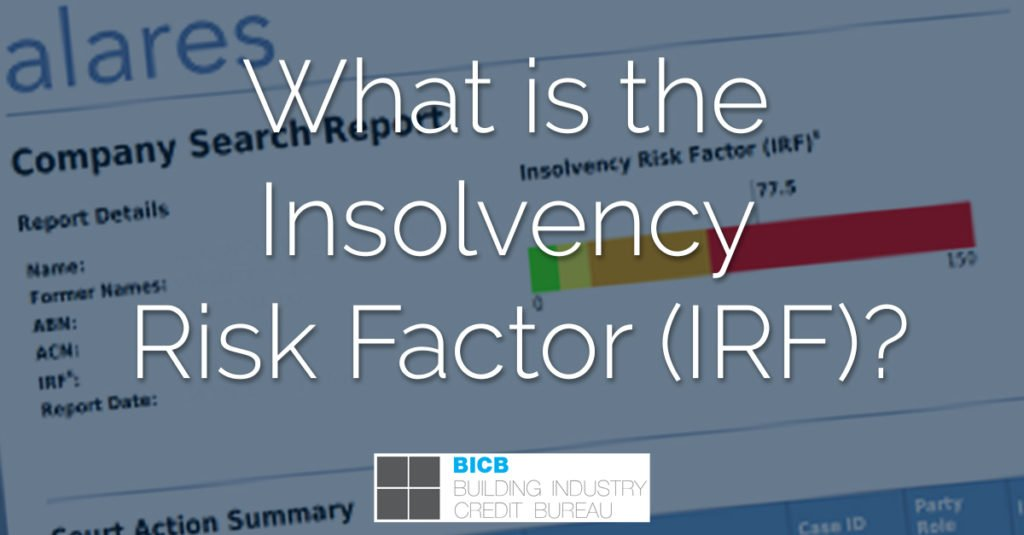 what is the insolvency risk factor - bicb