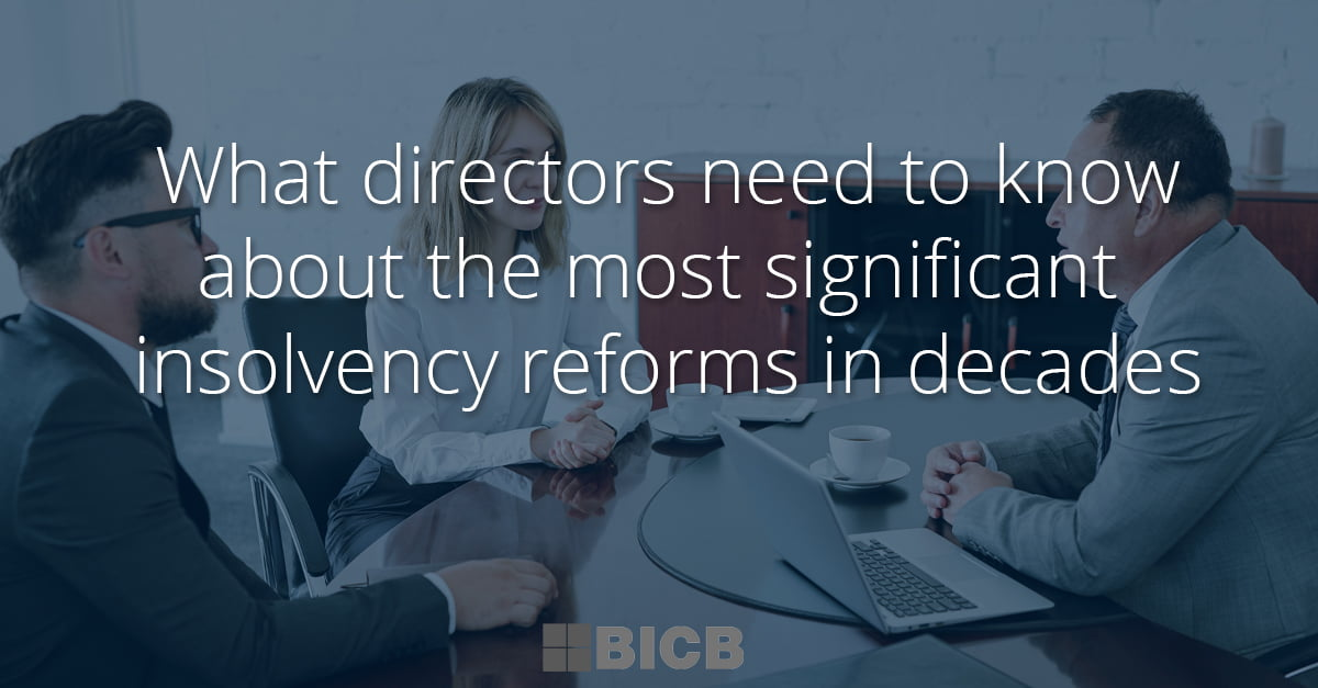 what directors should know - bicb